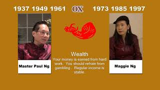 Canadian Chinese, Fengshui Master, Paul Ng, 2020, Zodiac Animal Predictions, Ox