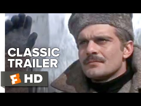 Doctor Zhivago (1965) Original Trailer - Omar Sharif Movie