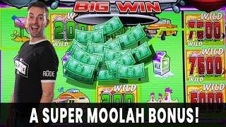 💸 SUPER MOOLAH BONUS! 🐮 Triple RETRIGGER w/ @Slot Queen  👽 $1000 on STAR TREK