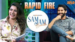I'm here for you Sam❤️   Naga Chaitanya, Samantha Akkineni   Sam Jam   Watch on aha