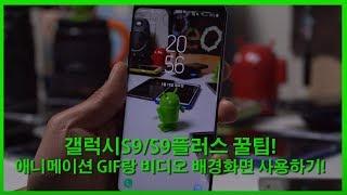 갤럭시S9/S9플러스 꿀팁! - 애니메이션 GIF랑 비디오 배경화면 사용하기! screenshot 4