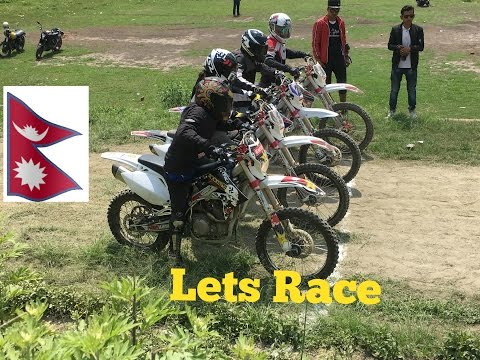 1st Moto FlatTrack race in Nepal.2017 Bhaktapur, Race,Accidents and crashes.