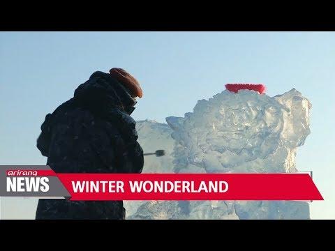 China's Harbin hosts world's largest ice sculpture festival