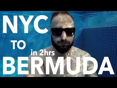 Bermuda: only 2 hours from New York!