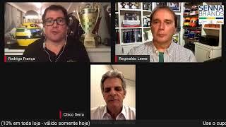 70 Anos da F1: as histórias de Ayrton Senna com Reginaldo Leme, Chico Serra e Caio Castro