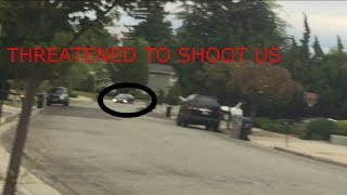 Guy Threatens To SHOOT US!!! INSANE DING DONG DITCH!!!!
