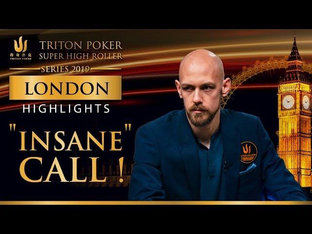 Insane Call by Stephen Chidwick - Triton Million London 2019