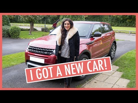 A Tour Around My New Car: A Red Range Rover Evoque