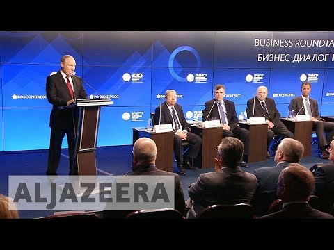 Russia's annual economic forum attracts US businesses