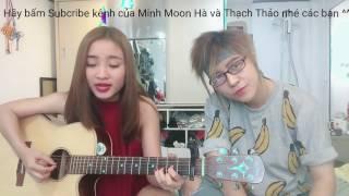 Mẹ mình | Thành Luke| guitar cover Minh Moon Hà ft Thạch Thảo