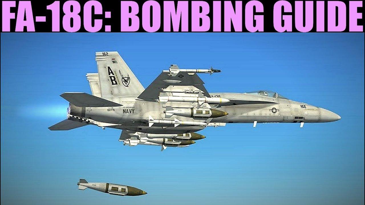 fa 18c hornet ccip auto manual bombing guide tutorial dcs world grim reapers [ 1280 x 720 Pixel ]