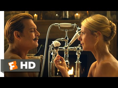 Mortdecai 1010 Movie   I Deeply Love My Mustache 2015 HD