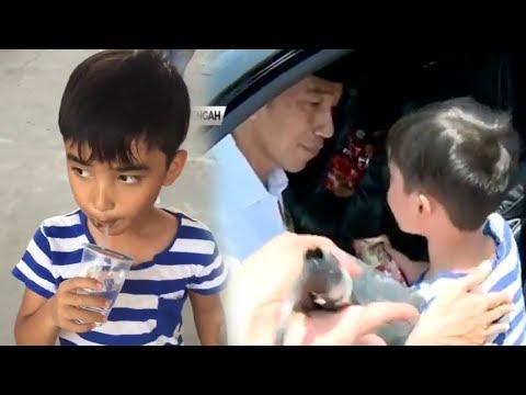 Sempat Ingin Ikut Jokowi, Bocah Korban Gempa Palu: Mama Sudah Meninggal, Tapi Saya Tak Boleh Nangis