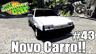 My Summer Car - Montando o novo Carro!!! #43 (G27 mod)