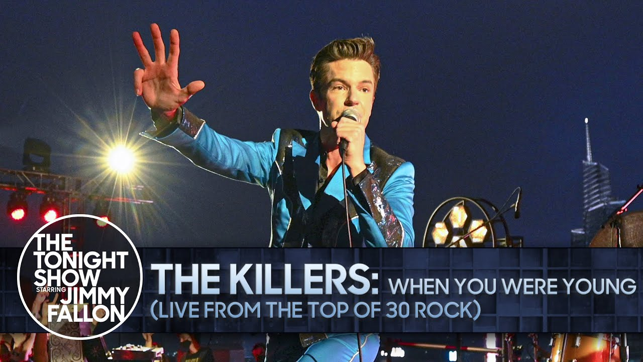 The Killers: When You Were Young (Live from the Top of 30 Rock) | The Tonight Show
