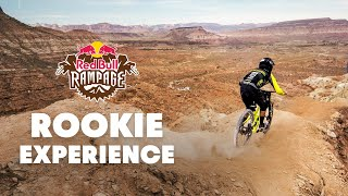 The Rookie Experience - Red Bull Rampage 2015
