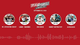 SPEAK FOR YOURSELF Audio Podcast (9.20.19) with Marcellus Wiley, Jason Whitlock | SPEAK FOR YOURSELF