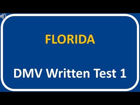 Florida DMV Written Test 1 Mp3