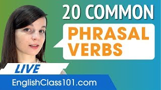 20 High-Frequency Phrasal Verbs in English