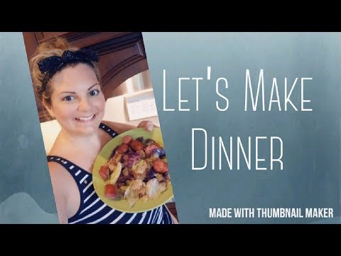 Let's Make Dinner! Spicy Turkey Sausage & Cabbage   Easy Quick Busy Mom Meal