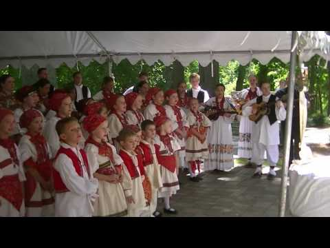 Cleveland Croatian youth in Cultural Garden