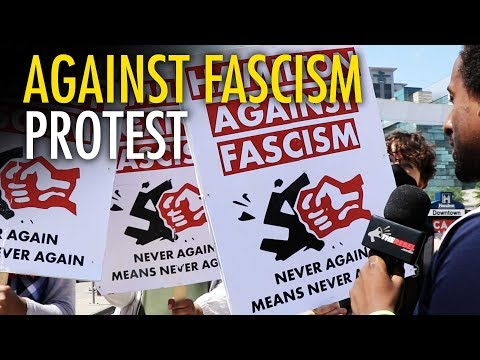"ANTIFA calls Jewish Defense League ""Nazis"""