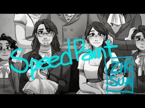 SpeedPaint // Hamilton Family