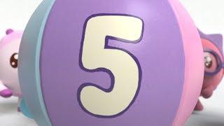 Малышарики - Умные песенки (Учим цифры) - Число пять | музыкальные мультики для самых маленьких