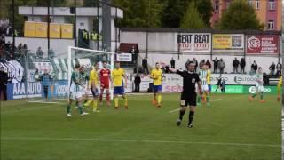 2017-04-22 Bohemians Praha 1905 - FC Fastav Zlín 0:2 (0:1)