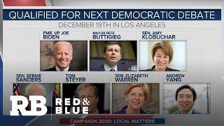 Democratic candidates vie for endorsements in California