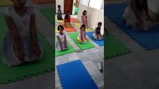 Summer Camp Yoga activity 2018