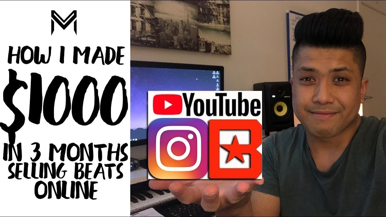 How I Made $1000 In 3 Months Selling Beats Online