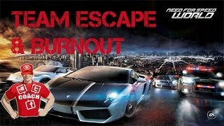 NEED FOR SPEED WORLD | Gameplay ITA [HD] | TEAM ESCAPE & BURNOUT