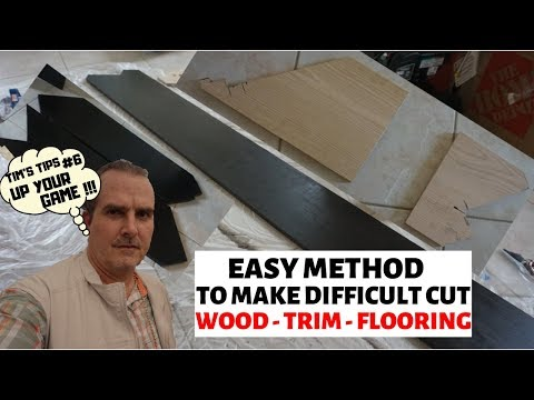 How to Mark and Cut Wood Angles - Accurately - Flooring, Moldings, Trim - Advanced DIY - Installers