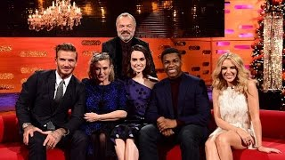 The Graham Norton Show S18E12  - Carrie Fisher, Daisy Ridley, John Boyega, David Beckham