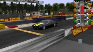 IHRA DRAG RACING GAME SPIRO PAPPAS 69 CAMARO