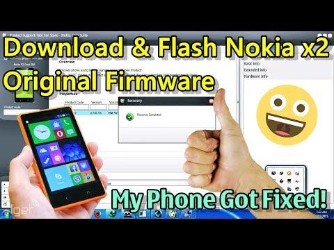 Download & Install Nokia X2 Stock Firmware, without nokia