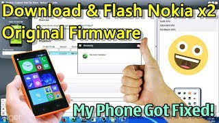 Download & Install Nokia X2 Stock Firmware, without nokia package manager | So Easy | 100% Work 😃