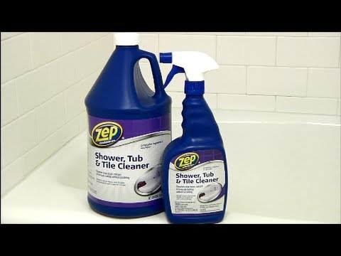 Zep Commercial Shower Tub U0026 Tile Cleaner