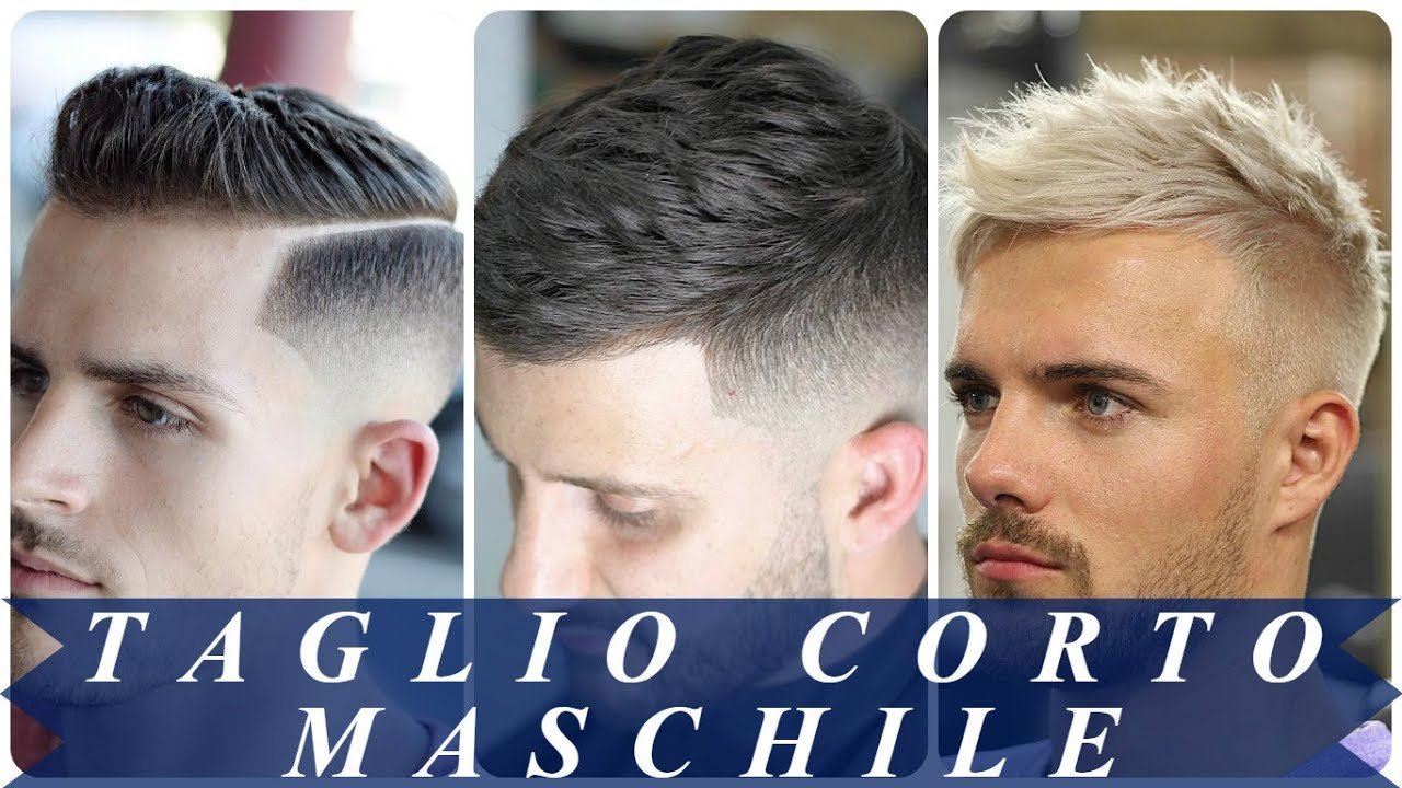 Tendenze capelli uomo 2018 corti - YouTube