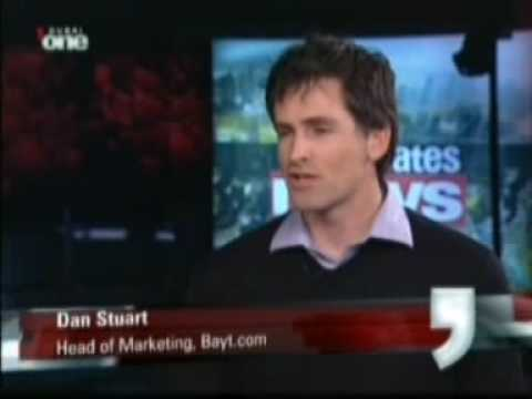Dan Stuart's performance appraisal interview on Dubai One TV Jan 29 09