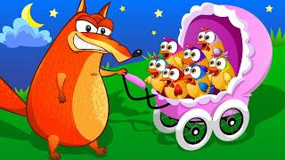 Ten Little Chicken - Learn to Count 1-10 | Kids Songs and Nursery Rhymes by Fox and Chicken Part 2