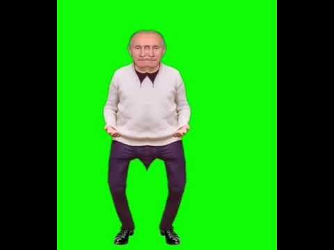 Футаж Путина из Чернобыля