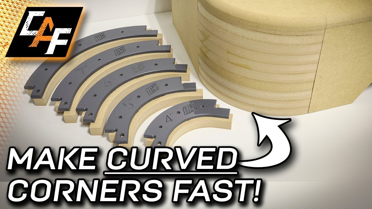 How to add curved corners to a Subwoofer box - By CAF