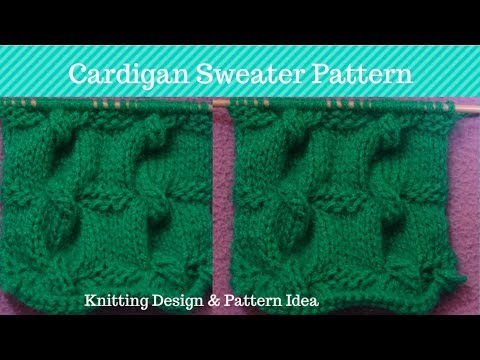 Sweater Design For Women Knitting Pattern For Ladies Cardigan