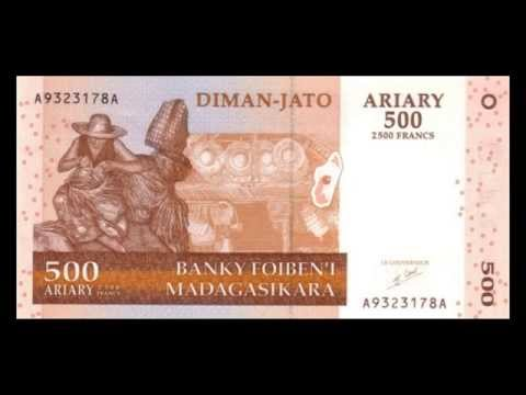 All Malagasy Ariary Banknotes - Banque Centrale de Madagascar - 2003 to 2008 in HD