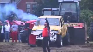 Diesel 4X4 Truck Pull, Badger State Tractor Pullers