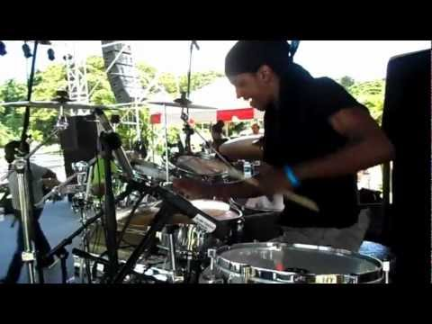 Black Soil Band Sound Check Tobago  feat Drummer Oral Brown