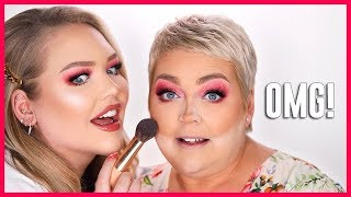 TRANSFORMING MY MOM INTO ME!