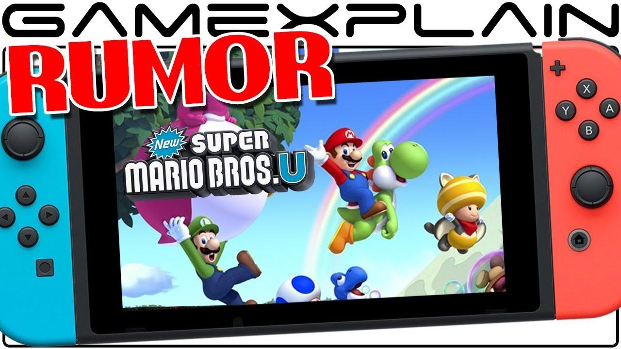 Rumor New Super Mario Bros U Deluxe Coming To Nintendo Switch